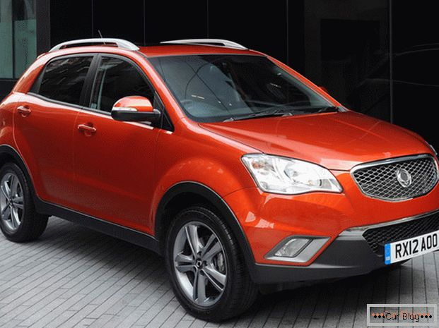 Vzhled vozu SsangYong Actyon