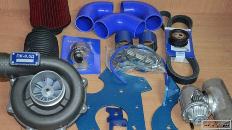 turbocharger kit pro VAZ
